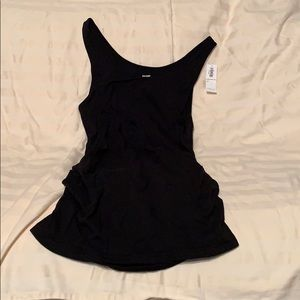 Black old navy fitted maternity tank new with tag!